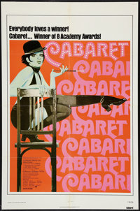 "Cabaret (Allied Artists, R-1974). One Sheet (27"" X 41""). Musical"