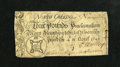 Colonial Notes:North Carolina, North Carolina April 4, 1748 £3 Very Good....