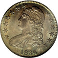 Bust Half Dollars, 1834 50C Large Date, Large Letters MS65 NGC....