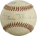Autographs:Baseballs, Vintage St. Louis Cardinals Stars Multi-Signed Baseball. Greatbaseball that we offer here bears the tremendous signatures ...