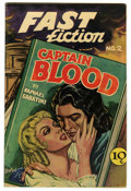 Golden Age (1938-1955):Classics Illustrated, Fast Fiction #2 Captain Blood (Seaboard Pub., 1949) Condition:FN+....