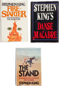Books:Signed Editions, Stephen King. Three Signed and Dated First Editions, including:Danse Macabre. New York: Everest House Publishers, [...(Total: 3 Items)