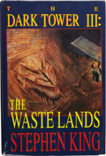 Books:First Editions, Stephen King. The Dark Tower III: The Waste Lands.Illustrated by Ned Dameron. Hampton Falls, New Hampshire: Donald...