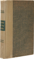Books:First Editions, William Golding. Lord of the Flies. A Novel. NewYork: Coward-McCann, Inc., [1955]. First American edition. Octa...