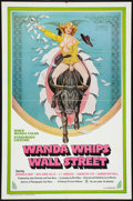 """Movie Posters:Adult, Wanda Whips Wall Street (Platinum Pictures, 1982). One Sheet (27"""" X 41""""). Adult.. ..."""