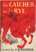 Books:First Editions, J. D. Salinger. The Catcher in the Rye. Boston: Little,Brown and Company, 1951.. First edition stated, in the...