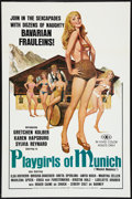 """Movie Posters:Adult, Playgirls of Munich (Unknown, 1977). One Sheet (27"""" X 41""""). Adult.. ..."""
