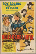 "Movie Posters:Western, Bells of Rosarita (Republic, 1945). One Sheet (27"" X 41"").Western.. ..."