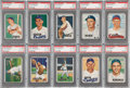 Baseball Cards:Lots, 1951 Bowman Baseball PSA-Graded Collection (20) - With Stars andHoFers! ...