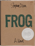Books:Signed Editions, Stephen Dixon. Frog. [Latham, New York]: British American Publishing, [1991]. First edition. Signed by the author ...