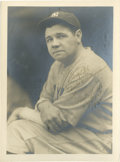 Autographs:Photos, 1931 Babe Ruth Signed Photograph by Burke....