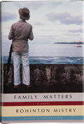 Books:Signed Editions, Rohinton Mistry. Family Matters. New York: Alfred A. Knopf, 2002. First United States edition. Signed and dated by...