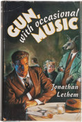 Books:Signed Editions, Jonathan Lethem. Gun, with Occasional Music. New York San Diego London: Harcourt Brace & Company, [1994]. First edit...