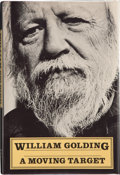 Books:First Editions, William Golding. A Moving Target. New York: Farrar, Strausand Giroux, [1982]. First American edition. Publisher's o...