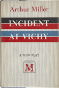 Books:First Editions, Arthur Miller. Incident at Vichy. New York: Viking Press,[1965]. First edition, first printing. Publisher's origina...
