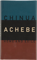 Books:Signed Editions, Chinua Achebe. Home and Exile. Oxford/New York: Oxford University Press, 2000. First edition, first printing. Sign...