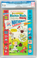 Bronze Age (1970-1979):Cartoon Character, Richie Rich, Casper and Wendy National League #1 - File Copy(Harvey, 1976) CGC NM+ 9.6 White pages....