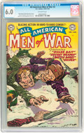 Golden Age (1938-1955):War, All-American Men of War #2 (DC, 1952) CGC FN 6.0 Off-whitepages....
