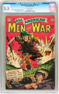Golden Age (1938-1955):War, All-American Men of War #5 (DC, 1953) CGC FN- 5.5 Off-whitepages....