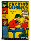 Platinum Age (1897-1937):Miscellaneous, Popular Comics #17 (Dell, 1937) Condition: GD/VG....