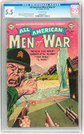 Golden Age (1938-1955):War, All-American Men of War #7 (DC, 1953) CGC FN- 5.5 Off-whitepages....