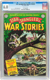 Star Spangled War Stories #133 (#3) (DC, 1952) CGC FN 6.0 Off-white pages