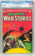 Golden Age (1938-1955):War, Star Spangled War Stories #5 (DC, 1953) CGC FN 6.0 Cream tooff-white pages....