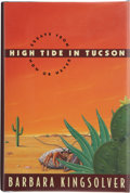 Books:Signed Editions, Barbara Kingsolver. High Tide in Tucson, Essays from Now or Never. New York: HarperCollins, [1995]. First edition, f...