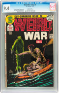 Bronze Age (1970-1979):Horror, Weird War Tales #3 (DC, 1972) CGC NM 9.4 White pages....