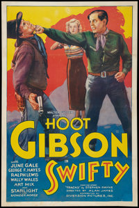 "Swifty (Diversion Pictures, 1935). One Sheet (27"" X 41""). Western"