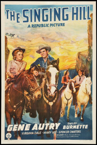 "The Singing Hill (Republic, 1941). One Sheet (27"" X 41""). Western"
