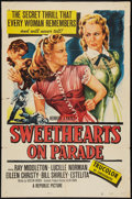 """Movie Posters:Musical, Sweethearts on Parade (Republic, 1953). One Sheet (27"""" X 41""""). Musical.. ..."""