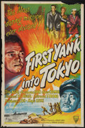 "Movie Posters:War, First Yank into Tokyo (RKO, 1945). One Sheet (27"" X 41""). War.. ..."