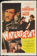 "Movie Posters:War, Waterfront (PRC, 1944). One Sheet (27"" X 41""). War.. ..."