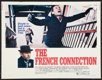 """The French Connection (20th Century Fox, 1971). Half Sheet (22"""" X 28"""") and Pressbook (8.5"""" X 14""""). A..."""