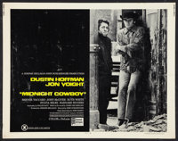"Midnight Cowboy (United Artists, 1969). Half Sheet (22"" X 28"") and Pressbook (11"" X 17""). X-Rated Ve..."