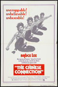 "Movie Posters:Action, The Chinese Connection (National General, 1973). One Sheet (27"" X41"") & Uncut Pressbook (11"" X 13.75""). Action.. ... (Total: 2Items)"