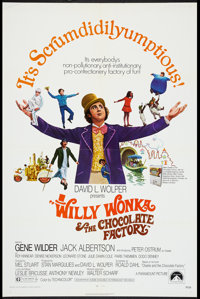 "Willy Wonka & the Chocolate Factory (Paramount, 1971). One Sheet (27"" X 41""). Fantasy"
