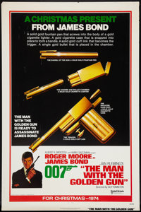 "The Man With the Golden Gun (United Artists, 1974). One Sheet (27"" X 41"") Advance. James Bond"