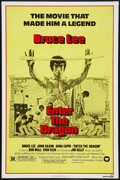 """Movie Posters:Action, Enter the Dragon (Warner Brothers, R-1979). One Sheet (27"""" X 41""""). Action.. ..."""