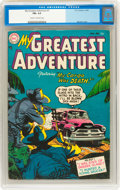 Golden Age (1938-1955):Horror, My Greatest Adventure #1 (DC, 1955) CGC FN+ 6.5 Cream to off-whitepages....