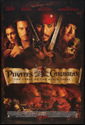 "Movie Posters:Adventure, Pirates of the Caribbean: The Curse Of The Black Pearl (Walt DisneyProductions, 2003). One Sheet (27"" X 40"") DS Advance. Ad..."