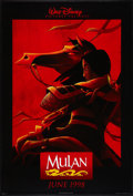 "Movie Posters:Animated, Mulan Lot (Buena Vista, 1998). One Sheets (3) (27"" X 40"") DSAdvance. Animated.. ... (Total: 3 Items)"