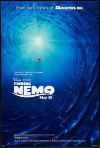 """Finding Nemo Lot (Disney, 2003). One Sheets (2) (27"""" X 40"""") DS Advance. Animated. ... (Total: 2 Items)"""