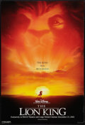 """Movie Posters:Animated, The Lion King Lot (Buena Vista, R-2002). One Sheets (2) (27"""" X40"""")DS Advances. Animated.. ... (Total: 2 Items)"""
