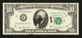 Error Notes:Ink Smears, Fr. 2024-K $10 1977A Federal Reserve Note. Very Choice CrispUncirculated.. ...