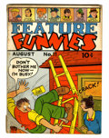 Golden Age (1938-1955):Humor, Feature Funnies #11 (Chesler, 1938) Condition: GD/VG....