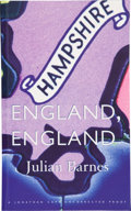Books:Signed Editions, Julian Barnes. England, England. London: Jonathan Cape, [1998]. Uncorrected proof of the first edition. Signed by ...