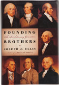 Books:Signed Editions, Joseph J. Ellis. Founding Brothers. The Revolutionary Generation. New York: Alfred A. Knopf, 2000. First edition...