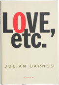 Books:Signed Editions, Julian Barnes. Love, etc. New York: Alfred A. Knopf, 2001. First American edition. Signed by the author on the t...